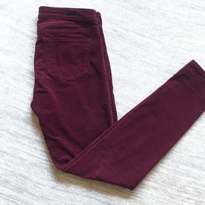 Kut from the Kloth mid rise skinny jeans size 6